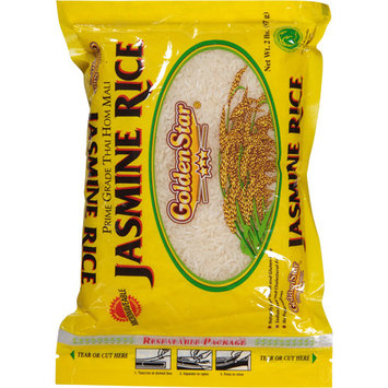 Golden Star Jasmine Rice, 2 lbs, (Pack of 12)