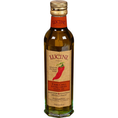 Lucini Fiery Chili Extra Virgin Olive Oil, 8.5 fl oz, (Pack of 6)
