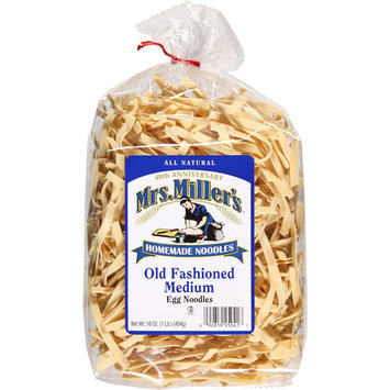 Mrs Millers Mrs. Miller's Old Fashioned Medium Egg Noodles, 16 oz, (Pack of 6)