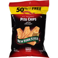 Ny Style New York Style Red Hot Chili Pepper Pita Chips, 9 oz, (Pack of 12)