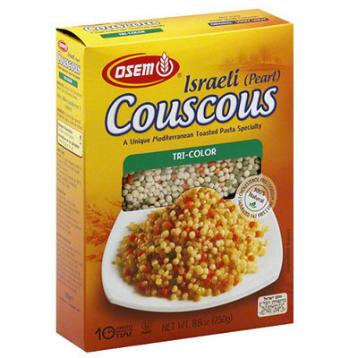 Osem Israeli (Pearl) Tri-Color Couscous, 8.8 oz, (Pack of 12)