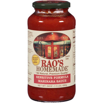 Rao's Homemade Sensitive Formula Marinara Sauce, 24 oz, (Pack of, 6)