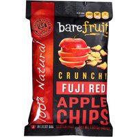 Bare Fruit Crunchy Fuji Red Apple Chips, 1.69 oz, (Pack of 10)