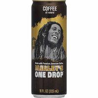 Marleys One Drop Marley's One Drop Coffee, 11 fl oz, (Pack of 12)