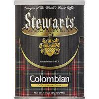 Stewart's Stewarts Colombian Ground Coffee, 11 oz, (Pack of 6)