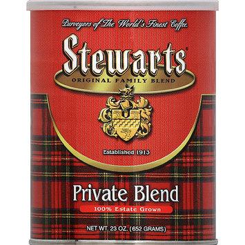 Stewart's Stewarts Private Blend Ground Coffee, 23 oz, (Pack of 6)