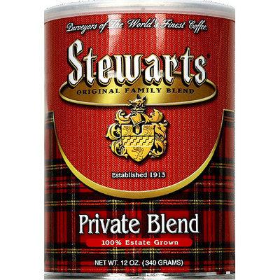 Stewart's Stewarts Private Blend Ground Coffee, 12 oz, (Pack of 6)
