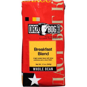 Dazbog Coffee Breakfast Blend Whole Bean Coffee, 12 oz, (Pack of 6)