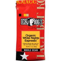 Dazbog Coffee Organic White Nights Espresso Whole Bean Coffee, 12 oz, (Pack of 6)