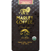 Marley Coffee One Love Ethiopia Yirgacheffe Organic Ground Coffee, 8 oz, (Pack of 8)