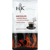 Hells Kitchen Hell's Kitchen Medium Viennese Roast Ground Coffee, 12 oz, (Pack of 6)
