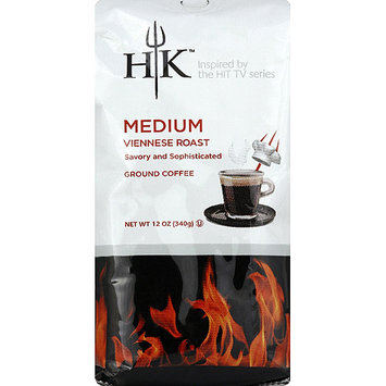 Hells Kitchen Hell's Kitchen Medium Viennese Roast Ground Coffee, 12 oz, (Pack of 6)