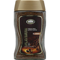 Elite Platinum Classic Freeze Dried Instant Coffee, 7.5 oz, (Pack of 6)