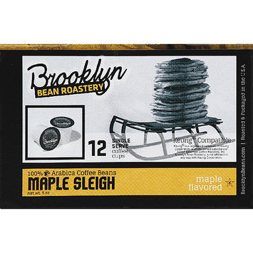 Brooklyn Bean Roastery Maple Sleigh Coffee K-Cups, 12 count, (Pack of 6)