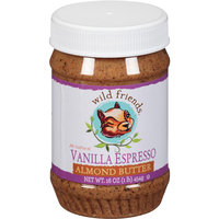 Wild Friends All-Natural Vanilla Espresso Almond Butter, 16 oz, (Pack of 6)
