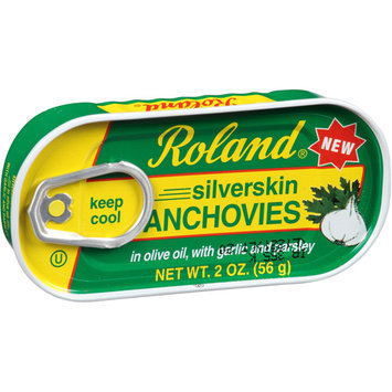 Roland Silverskin Anchovies, 2 oz, (Pack of 12)