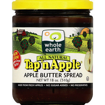 Tap N Apple Tap'n Apple All Natural Apple Butter Spread, 18 oz, (Pack of 12)