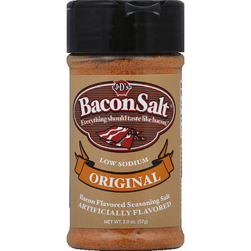 J & D's Original Bacon Flavored Seasoning Salt, 2 oz, (Pack of 6)