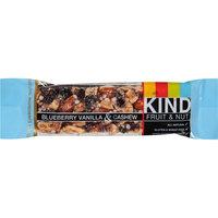 Kind Blueberry Vanilla & Cashew Fruit & Nut Bar, 1.4 oz, (Pack of 12)