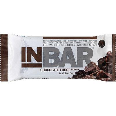 Inbalance InBar Chocolate Fudge Nutrient Bar, 2.0 oz, (Pack of 12)