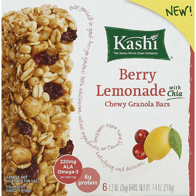 Kashi® Berry Lemonade Chewy Granola Bars