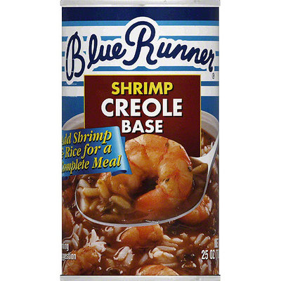 Blue Runner Shrimp Creole Base, 25 oz, (Pack of 6)
