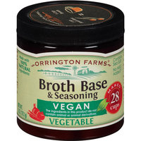 Orrington Farms Vegan Vegetable Broth Base & Seasoning, 6 oz, (Pack of 6)