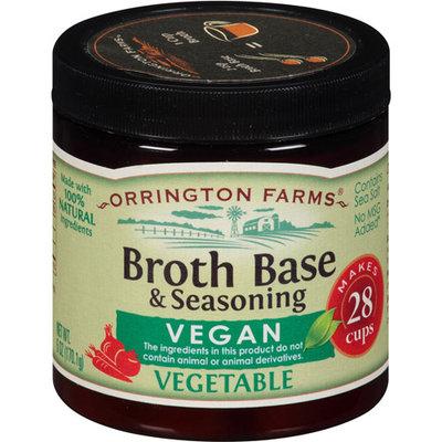 Orrington Farms Vegan Vegetable Broth Base & Seasoning, 6 oz, (Pack of 6)