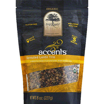 Modern Cocktail TruRoots Accents Sprouted Lentil Trio, 8 oz, (Pack of 6)