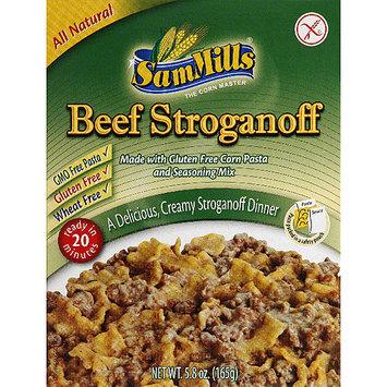 Sam Mills Beef Stroganoff, 5.8 oz, (Pack of 6)