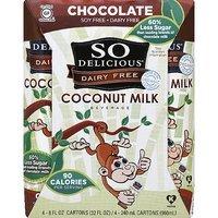 So Delicious Dairy Free Chocolate Coconut Milk