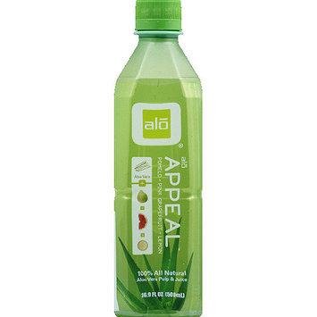 Alo Appeal Pomelo, Lemon & Pink Grapefruit Aloe Vera Drink, 16.9 fl oz, (Pack of 12)