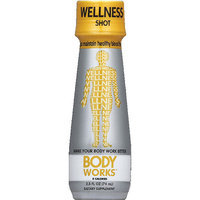 Body Works Wellness Shot Dietary Supplement, 2.5 fl oz, (Pack of 6)