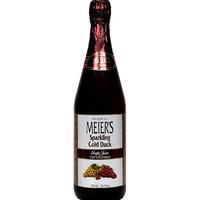 Meiers Meier's Sparkling Cold Duck Grape Juice, 25.4 fl oz, (Pack of 12)