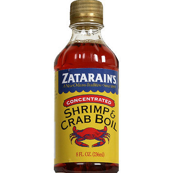 Zatarain's Concentrated Shrimp & Crab Boil, 8 fl oz, (Pack of 12)