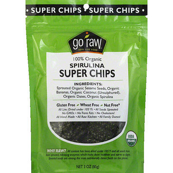Go Raw Organic Spirulina Super Chips
