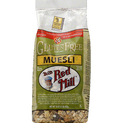 Bob's Red Mill Muesli Cereal, 16 oz, (Pack of 4)