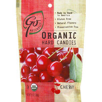 Go Naturally Cherry Organic Hard Candies, 3.5 oz, (Pack of 6)
