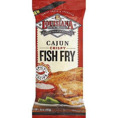Louisiana Fish Fry Products Cajun Crispy Fish Fry, 10 oz, (Pack of 12)