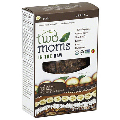 2 Moms In The Raw Two Moms in the Raw Plain Grain Free Cereal, 14 oz, (Pack of 6)
