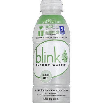 Blinky Blink Zesty Lemon-Lime Energy Water, 16.9 fl oz, (Pack of 12)