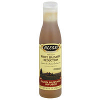 Alessi Dijon Mustard Infused White Balsamic Reduction, 8.5 fl oz, (Pack of 6)