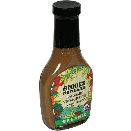 Angie's Annie's Naturals Organic Balsamic Vinaigrette, 8 fl oz, (Pack of, 6)