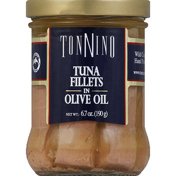 Tonnino Tuna Fillets in Olive Oil, 6.7 oz, (Pack of 6)