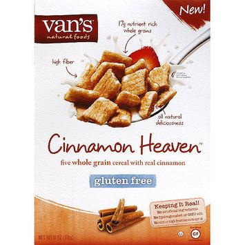 Vans Van's Natural Foods Cinnamon Heaven Cereal, 11 oz, (Pack of 6)