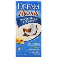 Imagine Dream Blends Original Coconut, Almond & Chia Drink, 32 fl oz, (Pack of 6)