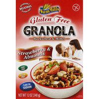Sam Mills Buckwheat & Millet Strawberry & Almonds Gluten Free Granola, 12 oz, (Pack of 6)