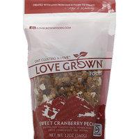 Love Grown Foods Sweet Cranberry Pecan Oat Clusters & Love, 12 oz, (Pack of 6)