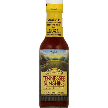 Try Me Tennessee Sunshine Hot Pepper Sauce, 5 fl oz, (Pack of 6)