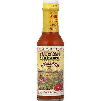 Try Me Yucatan Sunshine Prepared Habanero Pepper Sauce, 5 fl oz, (Pack of 6)